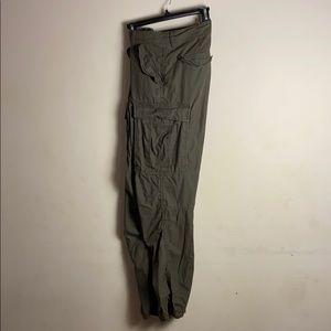 H&M drawstring cargo pants